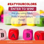 #EatYourColors BabyCook Giveaway
