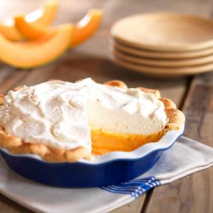 Cantaloupe Cream Pie jpg