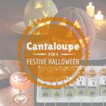 Cantaloupe for a Festive Halloween