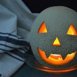 How To Carve a Cantaloupe Jack-o-Lantern