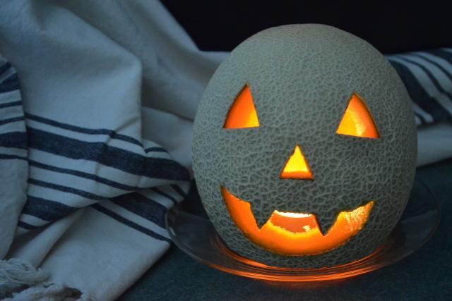 How To Carve A Cantaloupe Jack O Lantern California