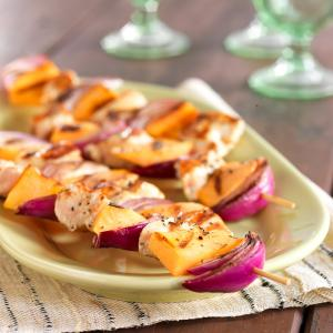 Savory Grilled Cantaloupe Skewers jpg